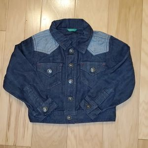 United Colors of Benetton Jean Jacket Small